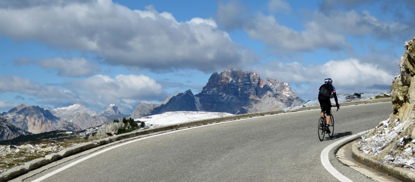 This is a great example of a challenging road cycling holiday in Italy that visits the Italian Alps and the mighty Dolomites. Huge castles, vineyards and dramatic mountain peaks mark the far north of Italy as a genuinely special riding destination. To the north are the High Alps of Austria, to the west the Swiss Alps and to the east the Italian Alps and Dolomites.