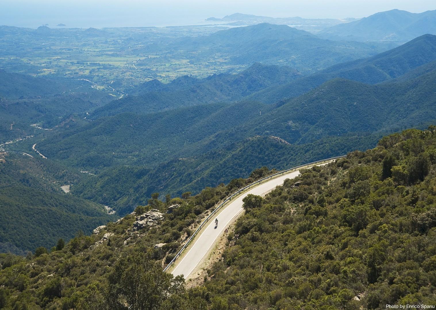 Road-Cycling-Holiday-Italy-Sardinia-Sardinian-Mountains-Mountain-roads.jpg - Italy - Sardinia - Mountain Explorer - Guided Road Cycling Holiday - Italia Road Cycling
