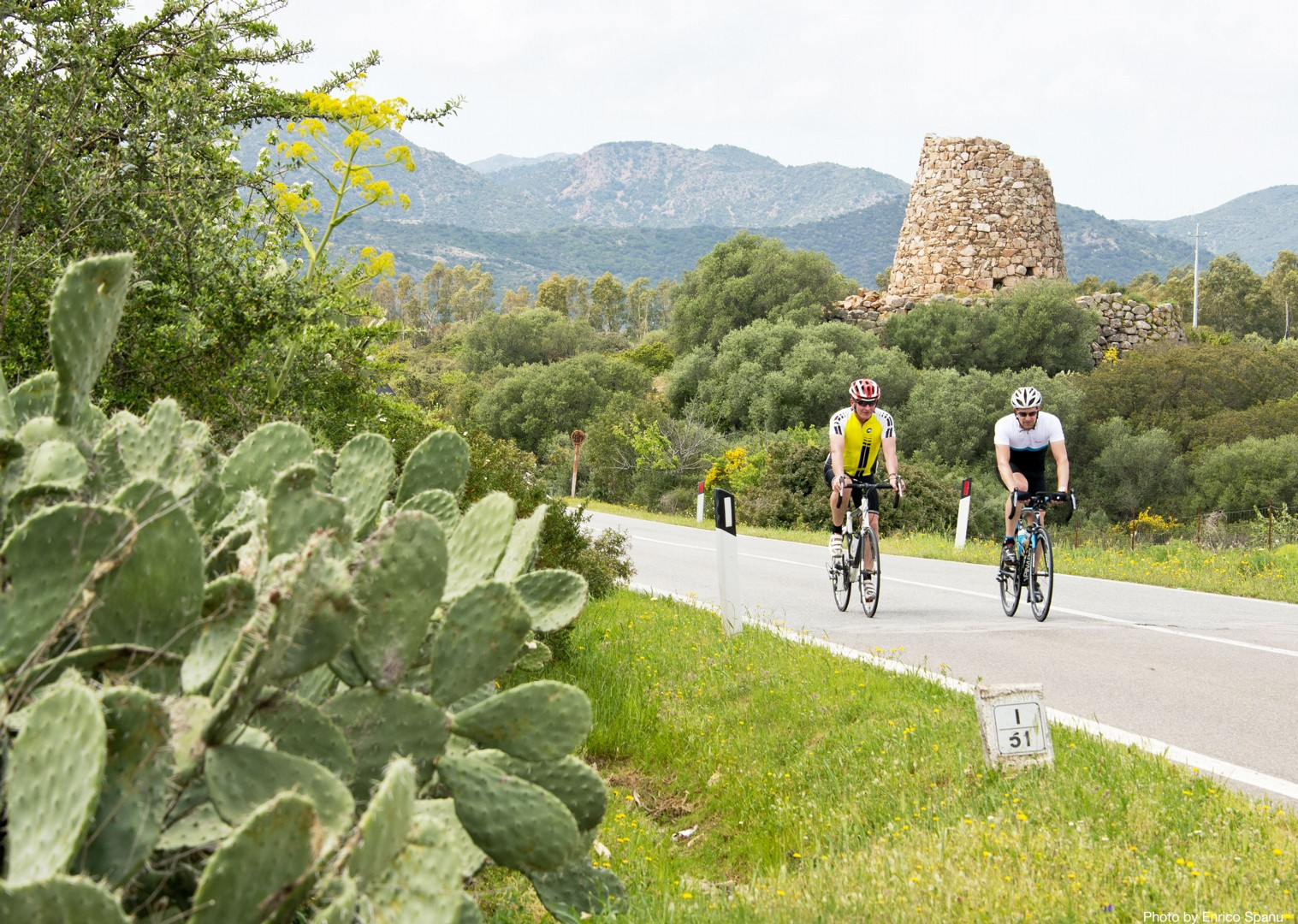 Sardinian-Cycling-Holiday-Road-Sardinian-Mountains.jpg - Italy - Sardinia - Sardinian Mountains - Guided Road Cycling Holiday - Italia Road Cycling