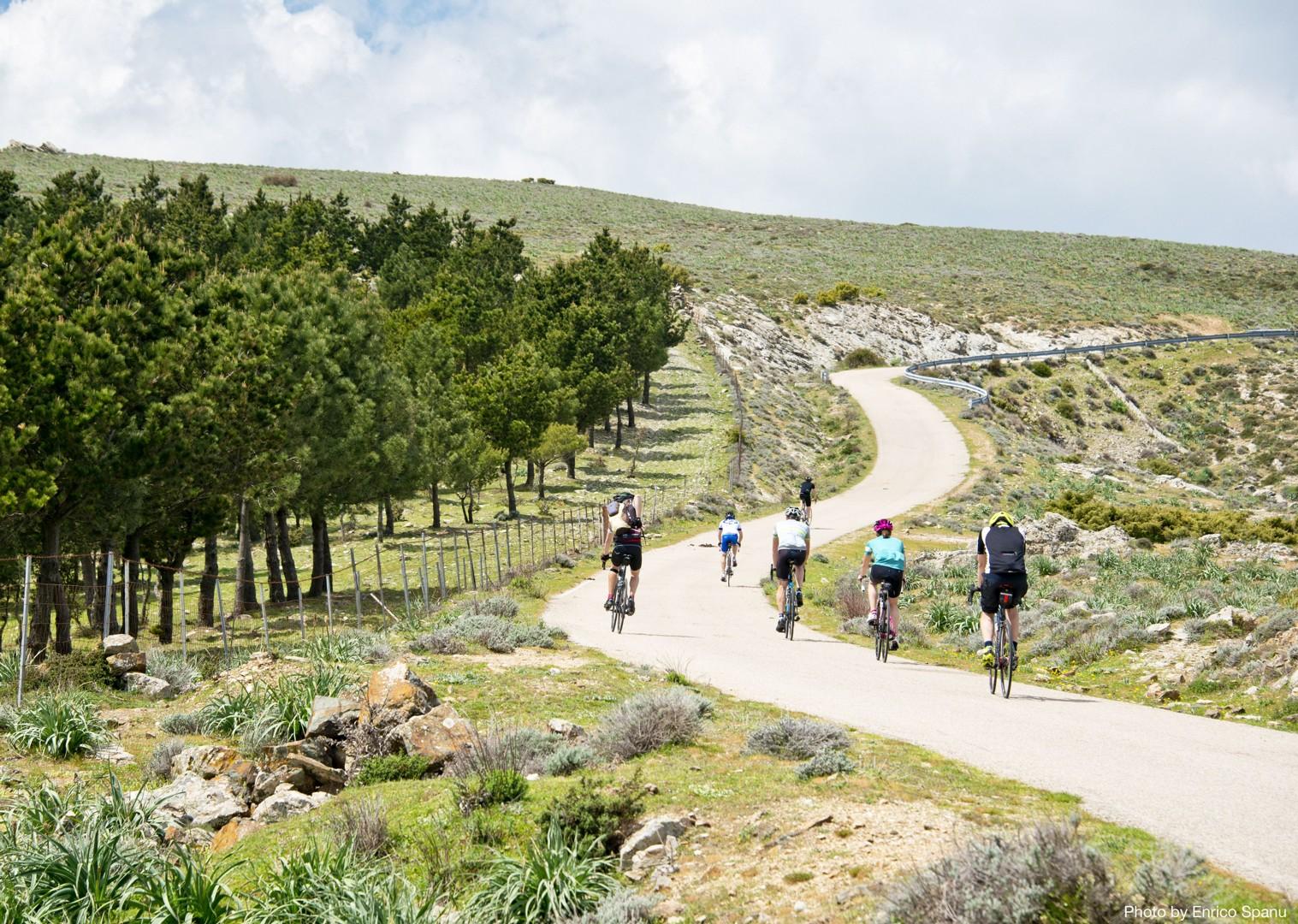 Sardinian-Cycling-Holiday-Road-Sardinian-Mountains-Tacchi-dOgliastra.jpg - Italy - Sardinia - Mountain Explorer - Guided Road Cycling Holiday - Italia Road Cycling