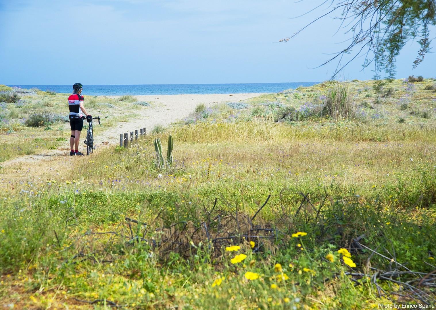 Road-Cycling-Holiday-Italy-Sardinia-Sardinian-Mountains-coast.jpg - Italy - Sardinia - Sardinian Mountains - Guided Road Cycling Holiday - Italia Road Cycling