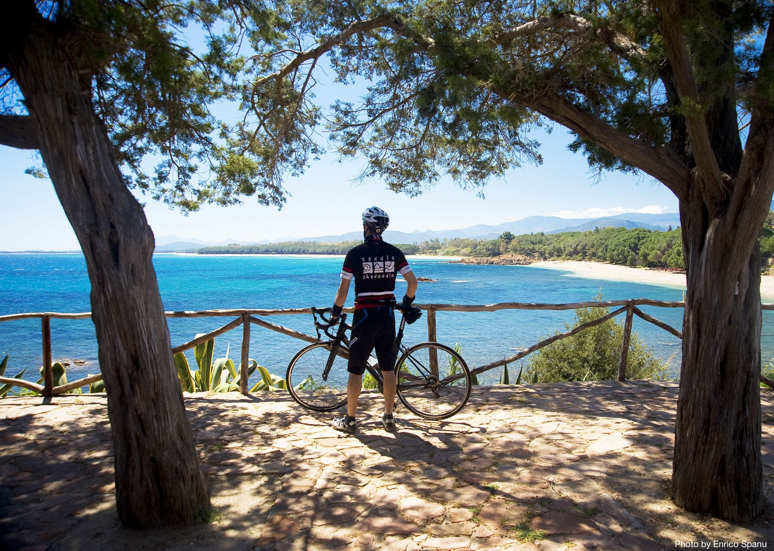 Guided-Road-Cycling-Holiday-Sardinia-Sardinian-Mountains-Forests-and-beautiful-countryside.jpg - Italy - Sardinia - Sardinian Mountains - Guided Road Cycling Holiday - Italia Road Cycling