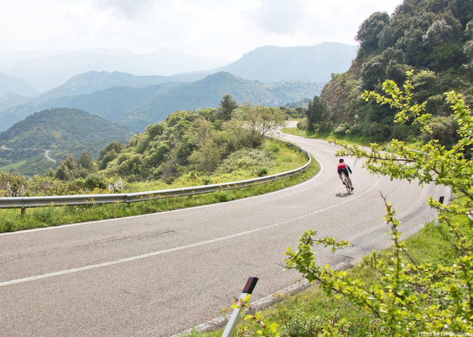Road-Cycling-Holiday-Italy-Sardinia-Sardinian-Mountains.jpg - Italy - Sardinia - Sardinian Mountains - Guided Road Cycling Holiday - Italia Road Cycling