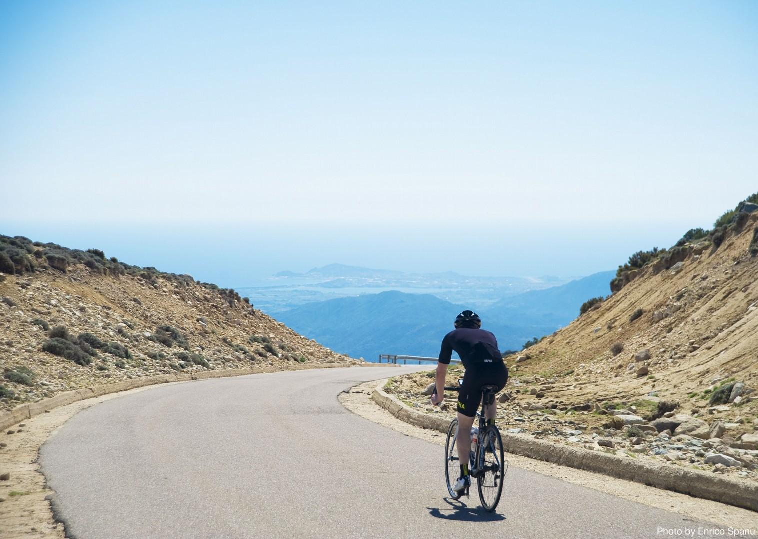 Guided-Road-Cycling-Holiday-Sardinia-Sardinian-Mountains-Tacchi-dOgliastra.jpg - Italy - Sardinia - Mountain Explorer - Guided Road Cycling Holiday - Italia Road Cycling
