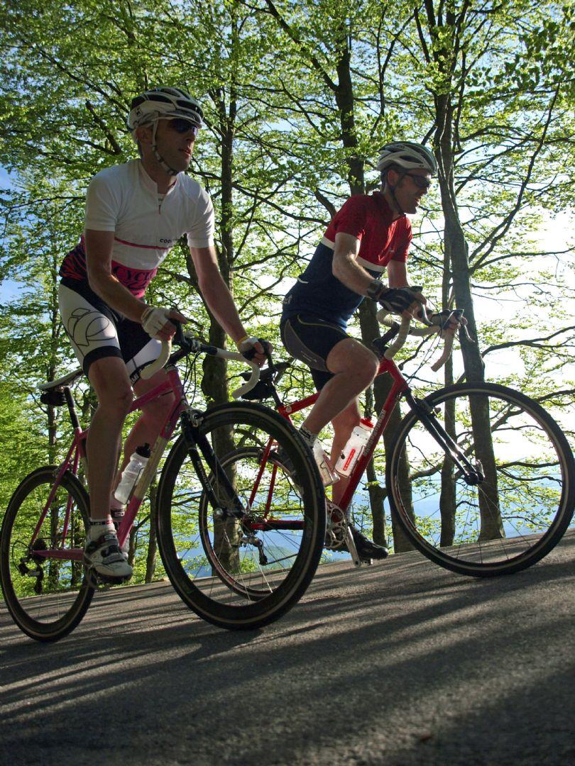 Climbing.jpg - Italy - Garfagnana - The Mountains of Tuscany - Italia Road Cycling