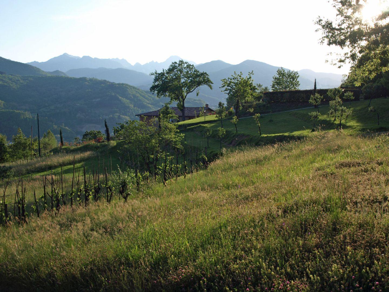Evening light.jpg - Italy - Garfagnana - The Mountains of Tuscany - Italia Road Cycling