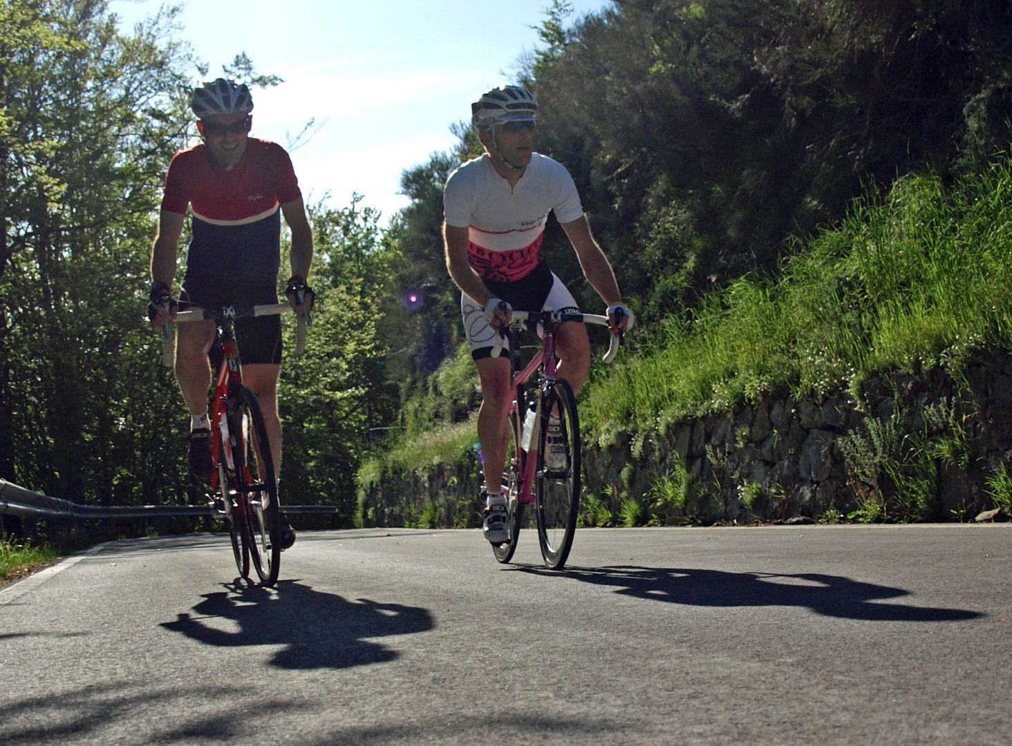 Together.jpg - Italy - Garfagnana - The Mountains of Tuscany - Italia Road Cycling