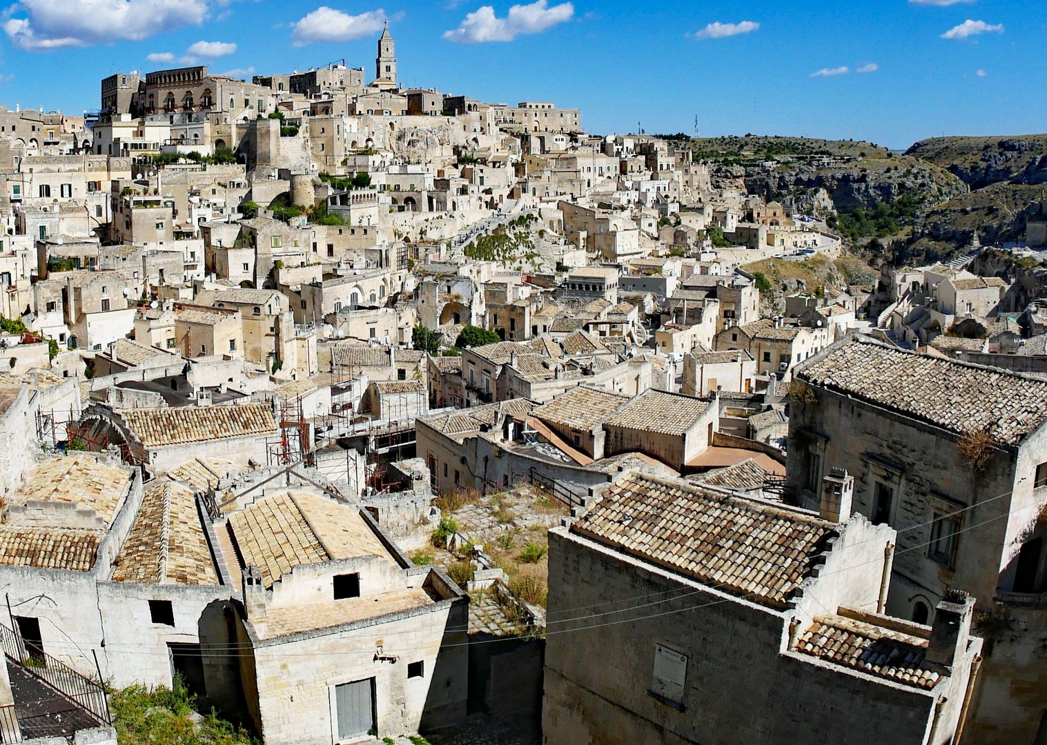 matera-panorama-north-south-cycling.jpg - Italy - Grand Traverse - North to South - Guided Road Cycling Holiday (17 days) - Italia Road Cycling