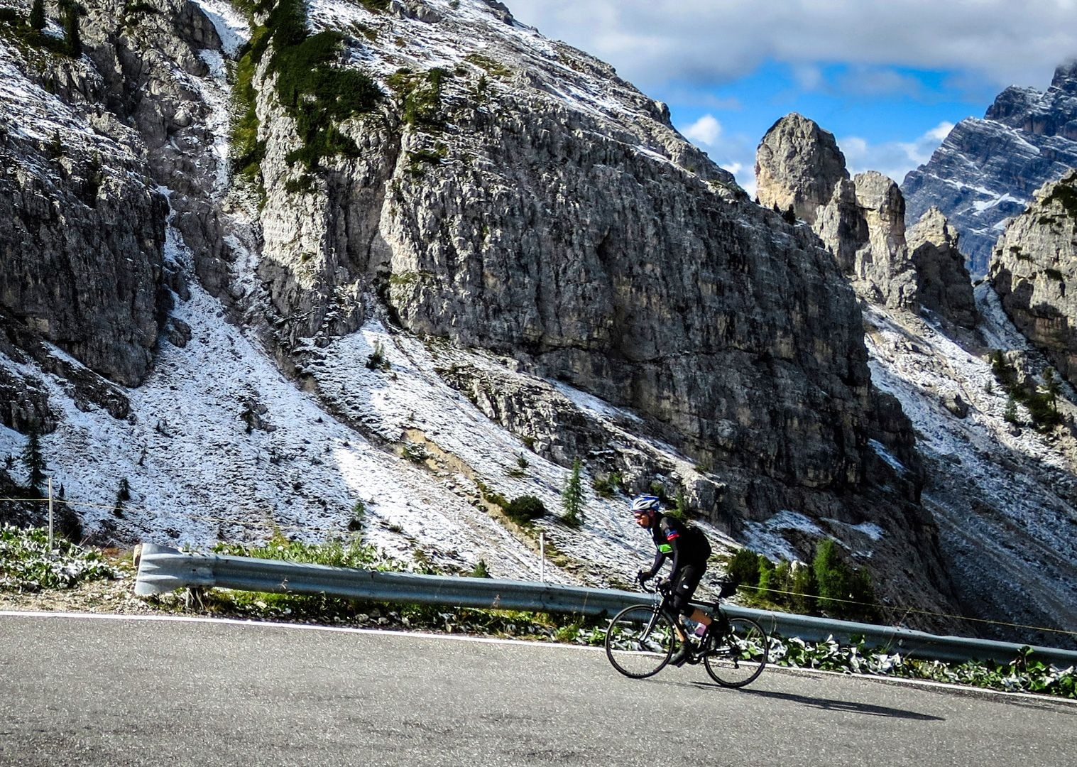 the-tres-cime-road-cycling-col-dolomites.jpg - Italy - Raid Dolomiti - Guided Road Cycling Holiday - Italia Road Cycling