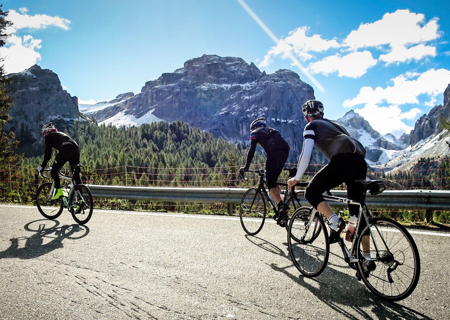 challenging-climbs-italian-dolomites-road-bike-skedaddle.jpg - Italy - Raid Dolomiti - Guided Road Cycling Holiday - Italia Road Cycling