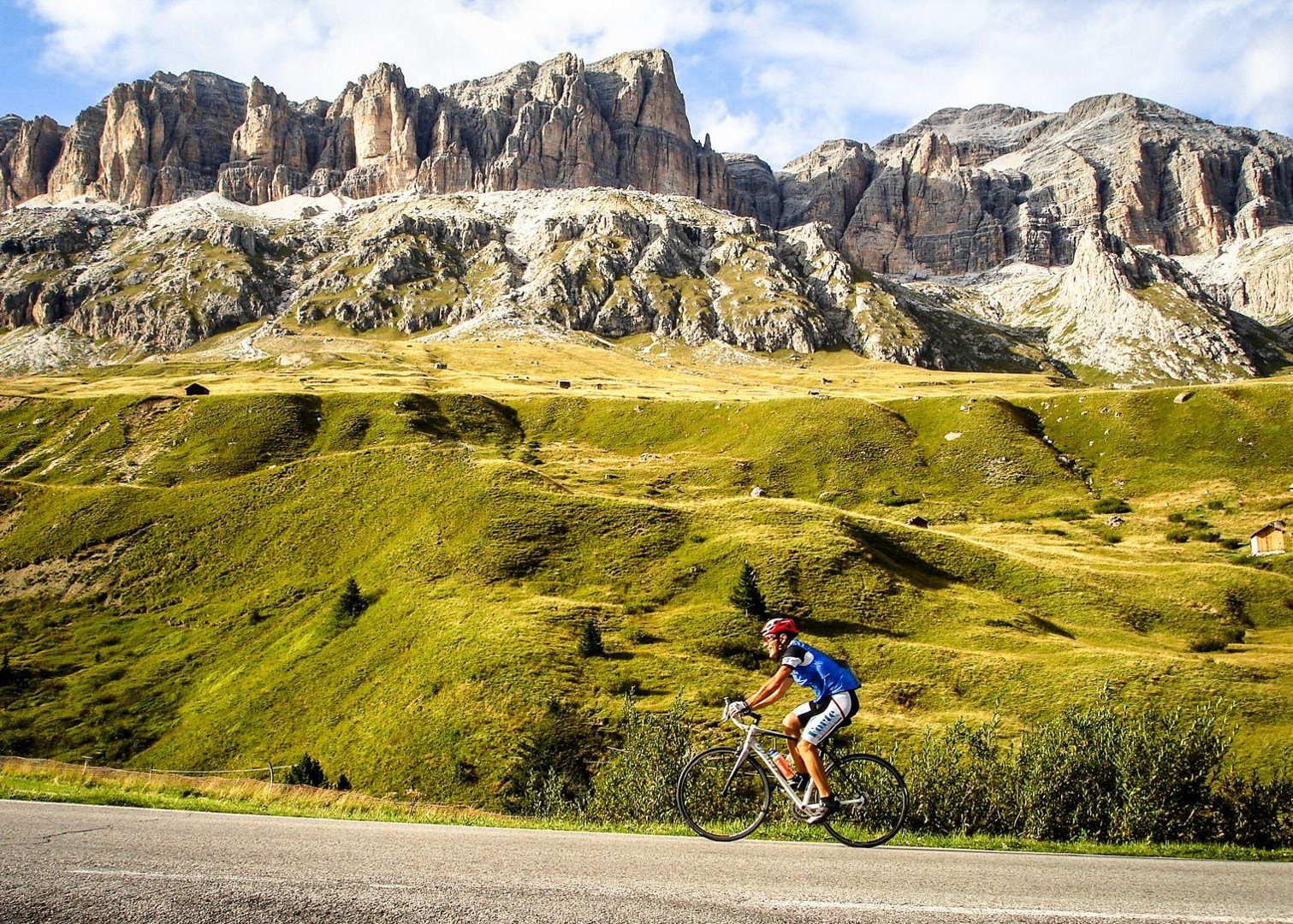 Droad-cycling-cols-of-italy-switzerland-and-france.jpg - Italy - Italian Dolomites - Guided Road Cycling Holiday - Italia Road Cycling