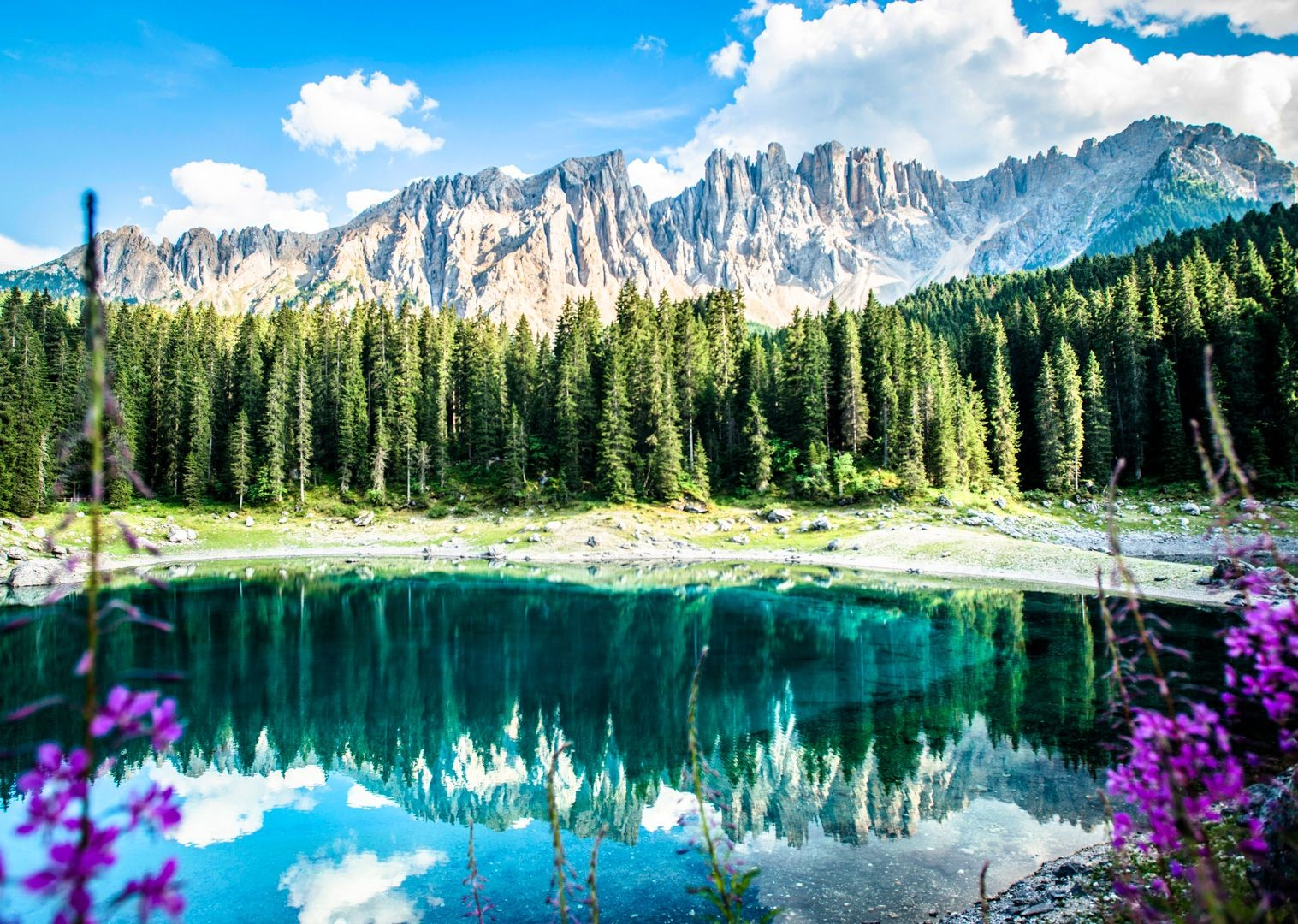 forests-lakes-and-mountains-of-italy-on-road-cycling-holiday.jpg - Italy - Italian Dolomites - Guided Road Cycling Holiday - Italia Road Cycling