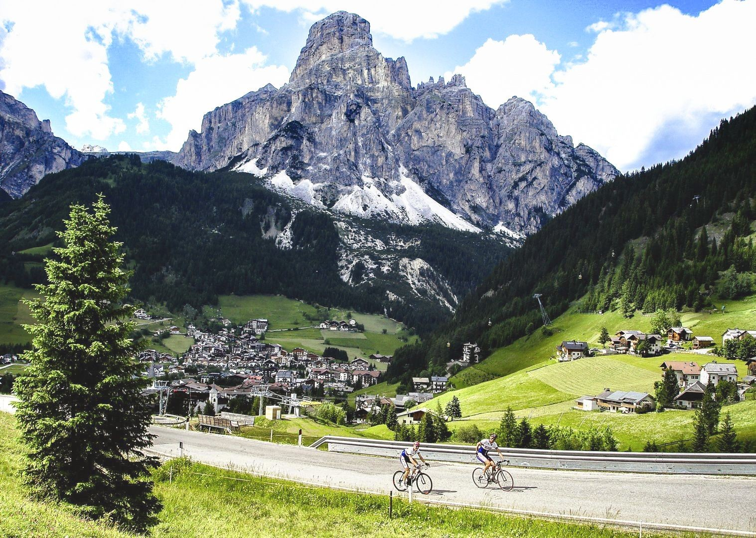 mountain-dolomites-of-italy-by-road-bike.jpg - Italy - Italian Dolomites - Guided Road Cycling Holiday - Italia Road Cycling