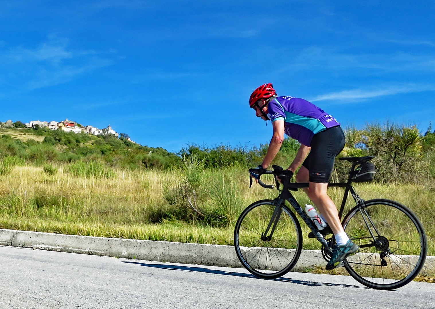 challenging-guided-road-cycling-holiday-italy.jpg - Italy - Grand Traverse - South to North (22 days) - Guided Road Cycling Holiday - Italia Road Cycling