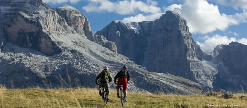 A fantastic mountain biking adventure through Italy's famous Brenta Dolomites. This incredibly rewarding place to place adventure allows us to explore deep into the heart of the mighty Dolomites, on a range of trails that suit all levels of riders.