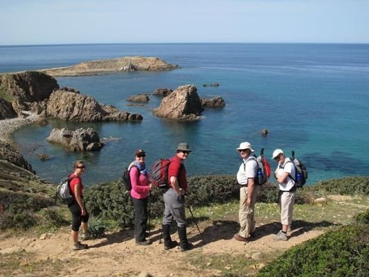 Capo Pecora.jpg - Sardinia - South West Coast and Mountains Walk - Guided Holiday - Walking