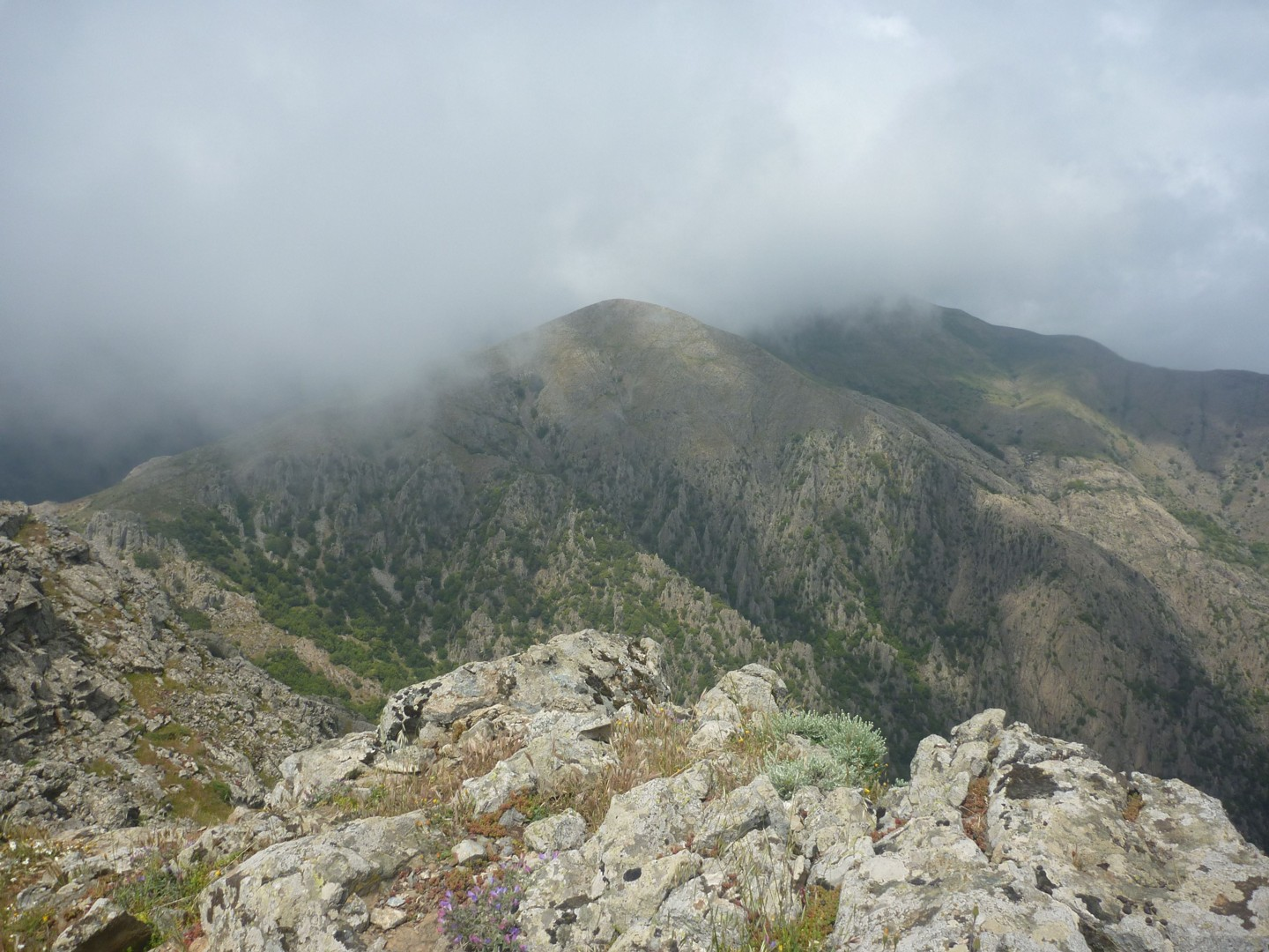 Day 5 - Monte Linas - view.jpg - Sardinia - South West Coast and Mountains Walk - Guided Holiday - Walking