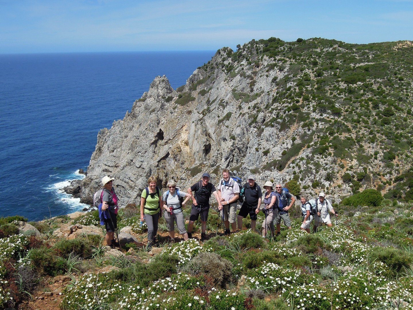 Miniere nel blu.jpg - Sardinia - South West Coast and Mountains Walk - Guided Holiday - Walking
