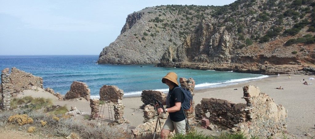SSW - day 7 - Cala Domestica.jpg - Sardinia - South West Coast and Mountains Walk - Guided Holiday - Walking